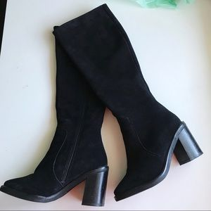 ALDO knee high block heel boots